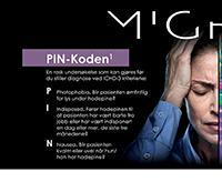 Migrene PIN-koden